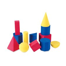 <strong>Learning Resources</strong> Hands-on Soft Geometric 12 Piece Set