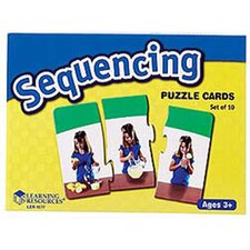 Sequencing Puzzle Cards 10 Piece Set
