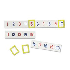 Magnetic Number Line 24 Piece Set