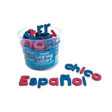 Spanish Magnetic Foam Learning 120 Piece Set
