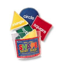 <strong>Learning Resources</strong> Bean Bags Shape 8 Piece Set
