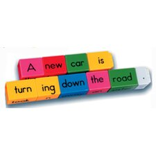 <strong>Learning Resources</strong> Reading Rods Sentence Building Kit