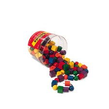 <strong>Learning Resources</strong> Beads In A Bucket 108 Piece Set