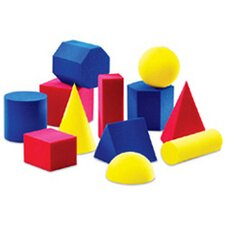 <strong>Learning Resources</strong> Everyday Shapes Activity 12 Piece Set
