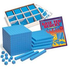 Base Ten Class Set Plastic Blue