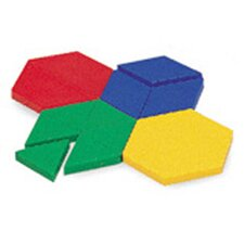 <strong>Learning Resources</strong> Pattern Blocks Mini-set 100 Piece Set