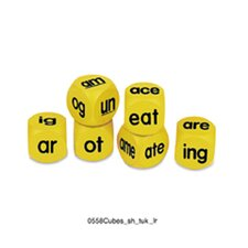 Phonics Cubes Word Family 6 Piece Pack