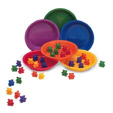 <strong>Learning Resources</strong> Baby Bear Sorting Set 102 Bears 6