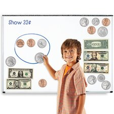 Double-Sided Magnetic Money 45 Piece Set