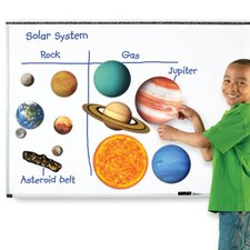 Giant Magnetic Solar System 12 Piece Set