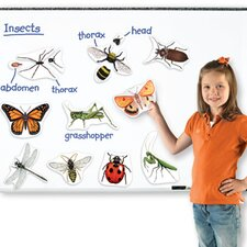 <strong>Learning Resources</strong> Giant Magnetic Insects 14 Piece Set