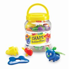 Shape Butterflies 15 Piece Set