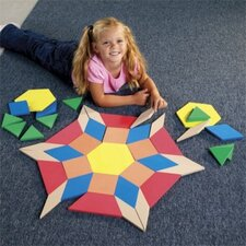<strong>Learning Resources</strong> Giant Foam Floor Pattern Blocks