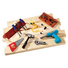 <strong>Learning Resources</strong> Pretend and Play Work Belt Tool Set 20 Piece Set