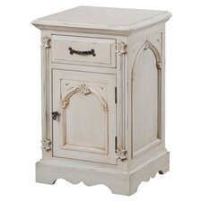 Beverley 1 Drawer Bedside Table