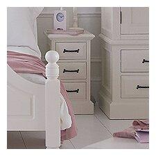 Hambleton 3 Drawer Narrow Bedside Table