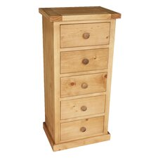 Kempton Bedroom 5 Drawer Wellington Chest
