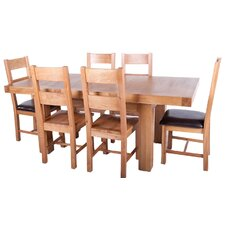 Block 7 Piece Dining Set