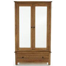 Canterbury Large Mirrored 2 Door Wardrobe