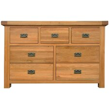 Hampton 3 Over 4 Drawer Chest