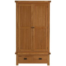 Hampton 2 Door 2 Drawer Wardrobe