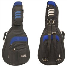 Dread 6/12 String Guitar Bag w/ Blue Accent Trim