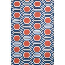 Fallon Royal Red/Blue Area Rug