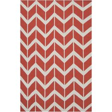 <strong>Jill Rosenwald Rugs</strong> Fallon Poppy Red Rug