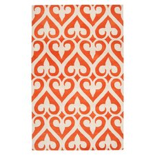 <strong>Jill Rosenwald Rugs</strong> Zuna Orange-Red Rug