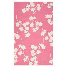 Fallon Flamingo Pink Area Rug