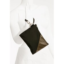 Rush Street Wristlet in Black with Kevlar Trim