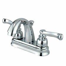 Royale Centerset Bathroom Faucet with Double Lever Handles