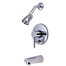 Nuvo Dual Control Tub and Shower Faucet with Metal Lever Handles