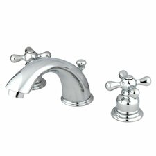 <strong>Elements of Design</strong> Magellan Widespread Bathroom Faucet with Double Cross Handles