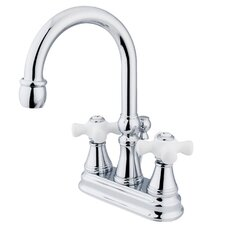 <strong>Elements of Design</strong> Centerset Bathroom Faucet with Double Cross Handles