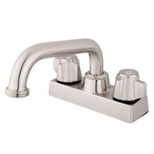 <strong>Elements of Design</strong> Centerset Bathroom Faucet with Double Lever Handles