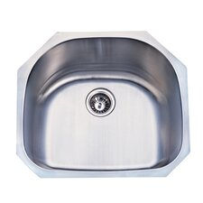 Undermount D Shape Kitchen Sink