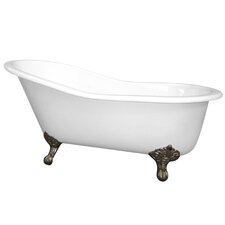 "61"" x 30"" Slipper Tub"