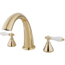 St. Charles Double Handle Deck Mount Roman Tub Faucet