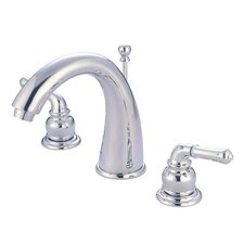 <strong>Elements of Design</strong> St. Charles Widespread Bathroom Sink Faucet with Double Lever Handles