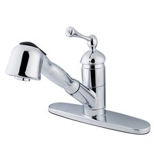 <strong>Elements of Design</strong> Single Handle Centerset Kitchen Faucet