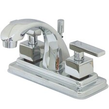 Tampa Centerset Bathroom Faucet with Double Lever Handles