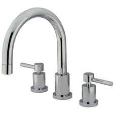 <strong>Elements of Design</strong> South Beach Double Handle Roman Tub Filler
