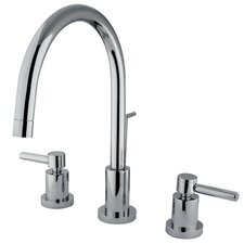 South Beach Double Handle Mini-Widespread Bathroom Faucet
