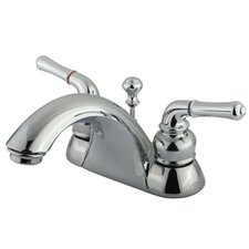 St. Charles Centerset Bathroom Faucet with Double Lever Handles