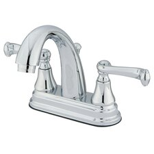 Elizabeth Centerset Bathroom Faucet with Double Lever Handles
