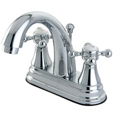 Elizabeth Centerset Bathroom Faucet with Double Cross Handles
