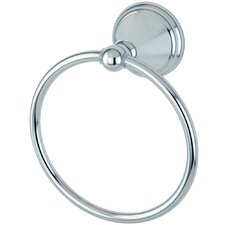 <strong>Elements of Design</strong> Silver Sage Towel Ring