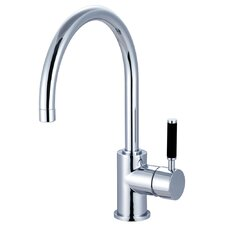 <strong>Elements of Design</strong> Kaiser Single Handle Single Hole Bathroom Faucet without Pop-Up