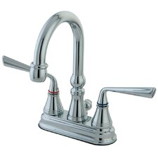 Silver Sage Double Handle Bathroom Faucet